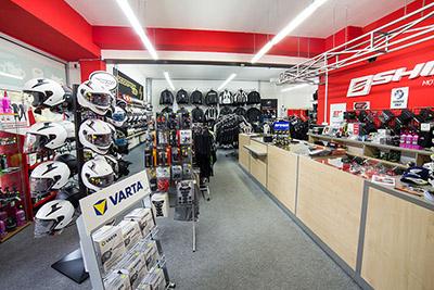 KMBIKERS kamenná prodejna - poradenství