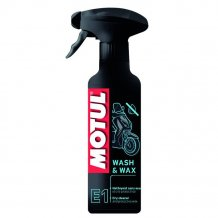 Čistič a vosk Motul E1 Wash & Wax 400 ml